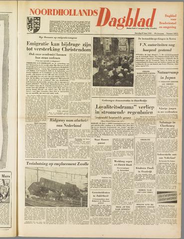 Noordhollands Dagblad : dagblad voor Alkmaar en omgeving 1953-06-27