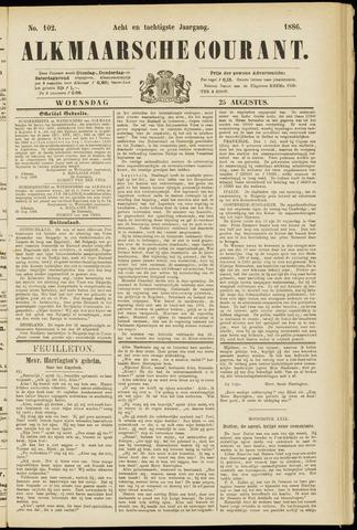 Alkmaarsche Courant 1886-08-25
