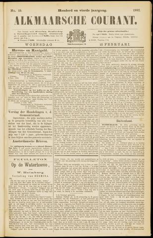Alkmaarsche Courant 1902-02-12
