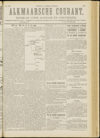 Alkmaarsche Courant 1914-11-03