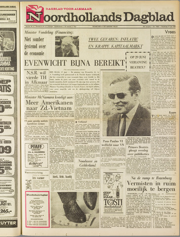 Noordhollands Dagblad : dagblad voor Alkmaar en omgeving 1965-06-17
