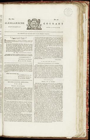 Alkmaarsche Courant 1821-10-15