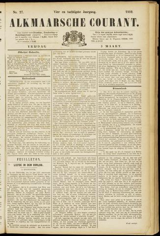 Alkmaarsche Courant 1882-03-03