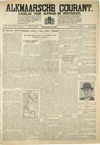 Alkmaarsche Courant 1937-07-07