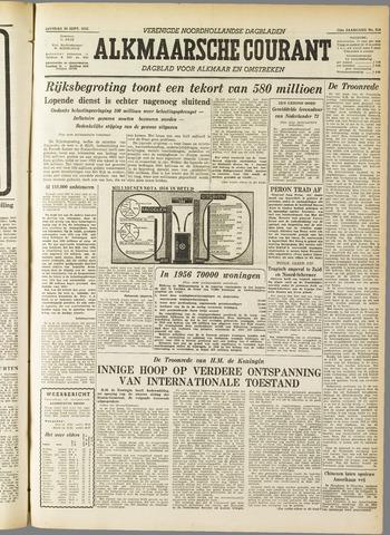 Alkmaarsche Courant 1955-09-20
