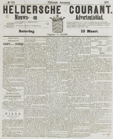 Heldersche Courant 1875-03-13