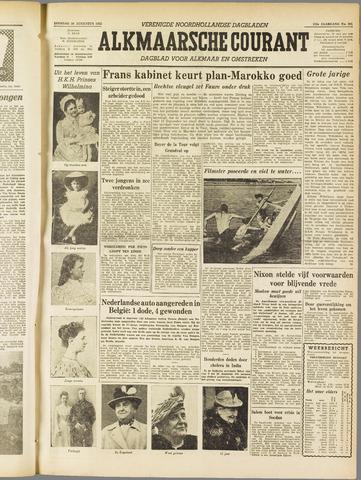 Alkmaarsche Courant 1955-08-30
