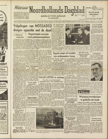 Nieuw Noordhollandsch Dagblad : voor Alkmaar en omgeving 1951-12-14