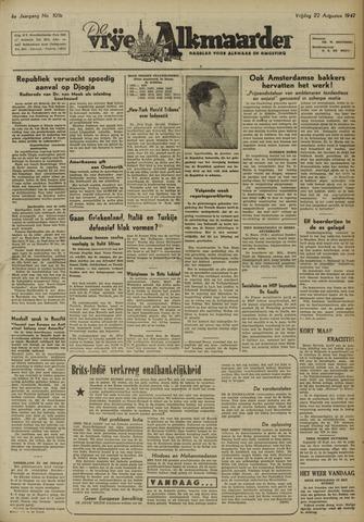 De Vrije Alkmaarder 1947-08-22