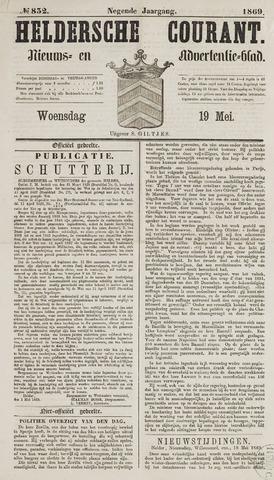 Heldersche Courant 1869-05-19