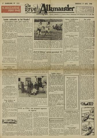 De Vrije Alkmaarder 1948-08-17