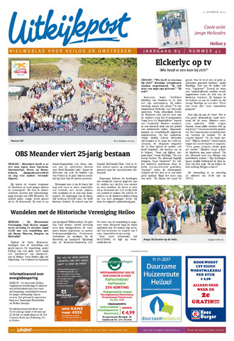 Uitkijkpost : nieuwsblad voor Heiloo e.o. 2017-10-11