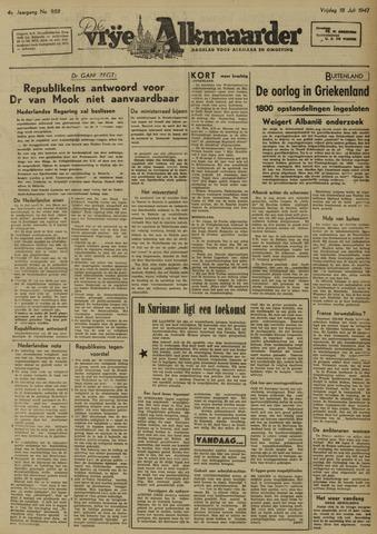 De Vrije Alkmaarder 1947-07-18
