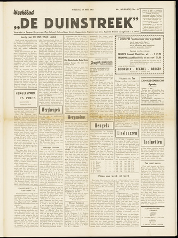 De Duinstreek 1962-05-18