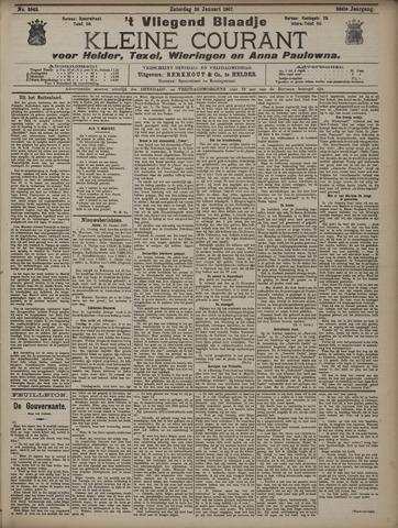 Vliegend blaadje : nieuws- en advertentiebode voor Den Helder 1907-01-26