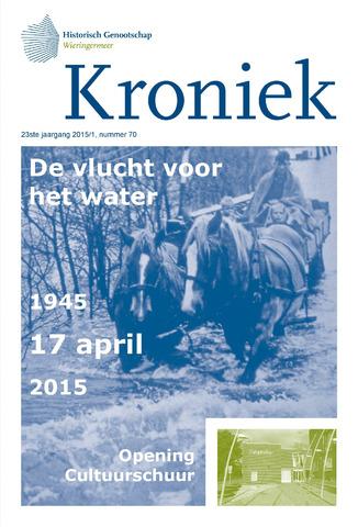 Kroniek Historisch Genootschap Wieringermeer 2015