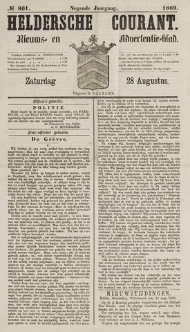 Heldersche Courant 1869-08-28