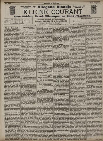 Vliegend blaadje : nieuws- en advertentiebode voor Den Helder 1908-06-10