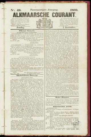 Alkmaarsche Courant 1860-12-02