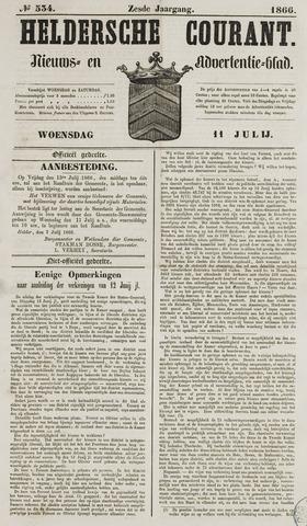 Heldersche Courant 1866-07-11
