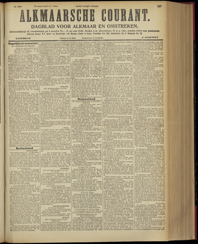 Alkmaarsche Courant 1928-08-04