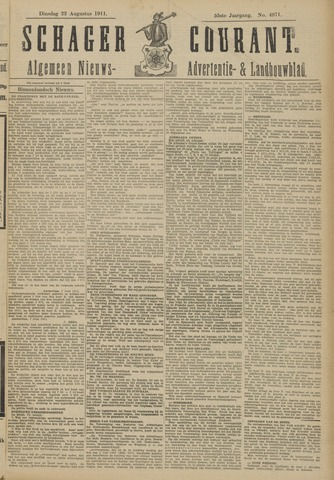 Schager Courant 1911-08-22