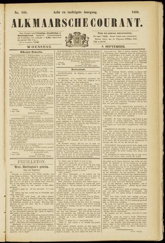 Alkmaarsche Courant 1886-09-08