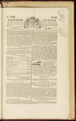 Alkmaarsche Courant 1846-03-23