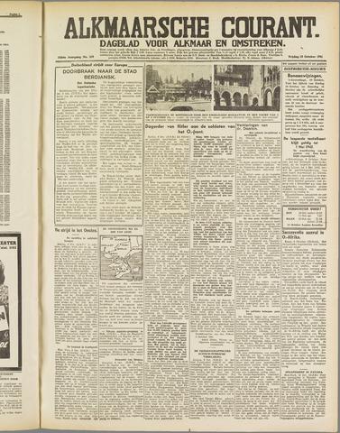 Alkmaarsche Courant 1941-10-10