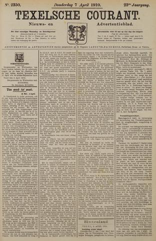 Texelsche Courant 1910-04-07