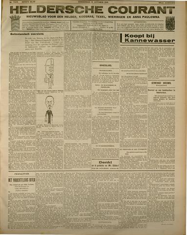 Heldersche Courant 1931-10-15