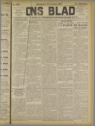 Ons Blad : katholiek nieuwsblad voor N-H 1917-11-06