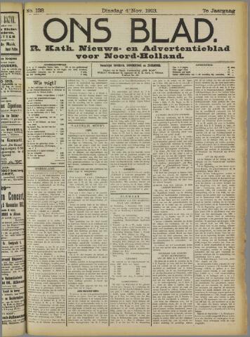 Ons Blad : katholiek nieuwsblad voor N-H 1913-11-04