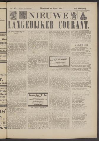 Nieuwe Langedijker Courant 1921-04-18