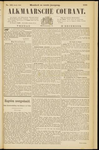 Alkmaarsche Courant 1899-12-22