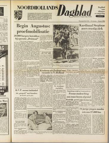 Noordhollands Dagblad : dagblad voor Alkmaar en omgeving 1953-07-22