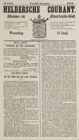 Heldersche Courant 1872-06-12