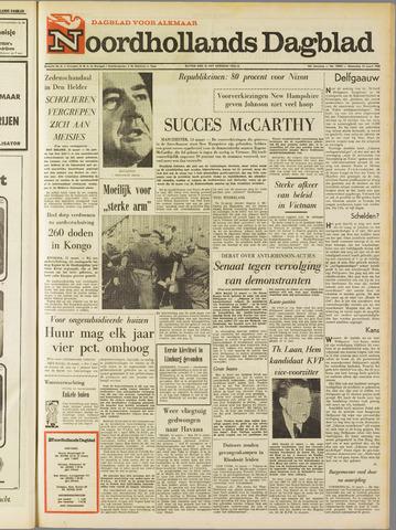 Noordhollands Dagblad : dagblad voor Alkmaar en omgeving 1968-03-13