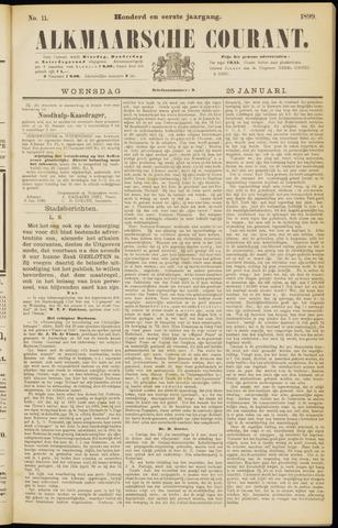 Alkmaarsche Courant 1899-01-25