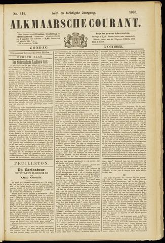Alkmaarsche Courant 1886-10-03