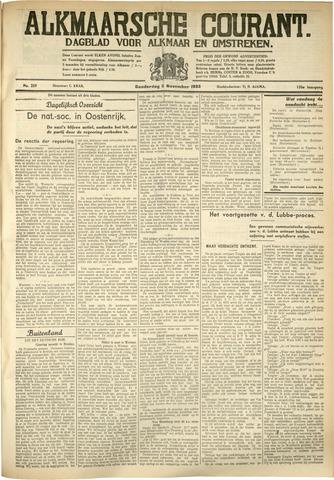 Alkmaarsche Courant 1933-11-02
