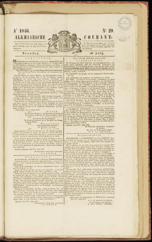 Alkmaarsche Courant 1846-07-20