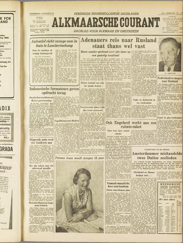 Alkmaarsche Courant 1955-08-04