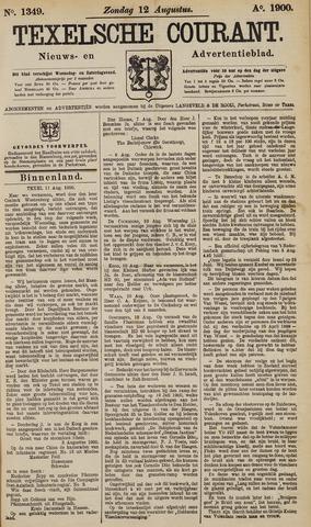 Texelsche Courant 1900-08-12