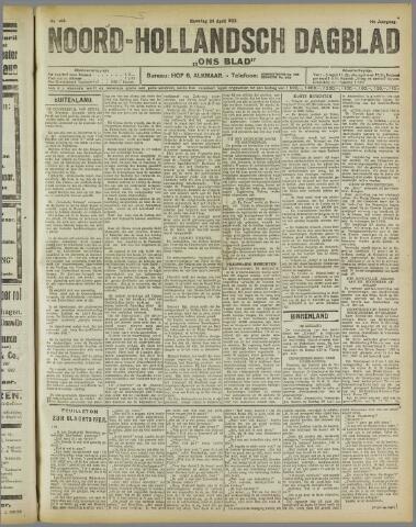 Ons Blad : katholiek nieuwsblad voor N-H 1922-04-24
