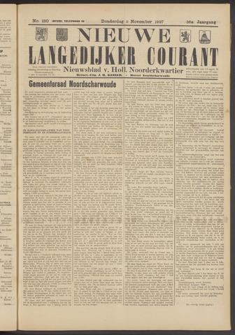 Nieuwe Langedijker Courant 1927-11-03