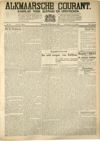 Alkmaarsche Courant 1933-11-18