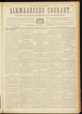Alkmaarsche Courant 1917-02-13