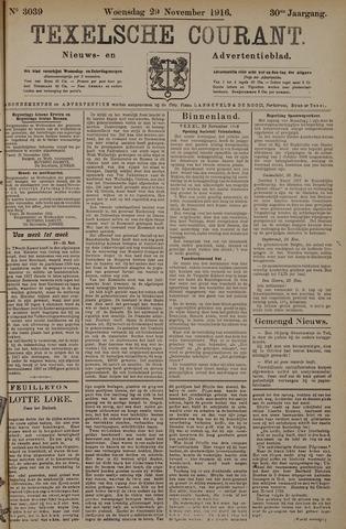 Texelsche Courant 1916-11-29