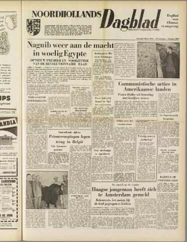 Noordhollands Dagblad : dagblad voor Alkmaar en omgeving 1954-03-09